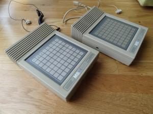 Left: pre-production MBX Unit Right: commercial MBX Unit