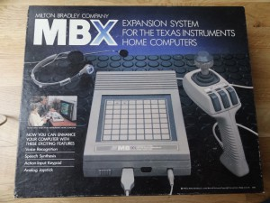 let's compare it with the Joystick from the commercial MBX Unit