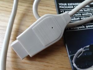 commercial MBX Joystick cable port