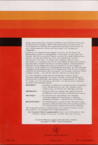 Video Graphs (I do not own this manual) PHM 3005, 1104981-0001 © 1980 Texas Instruments