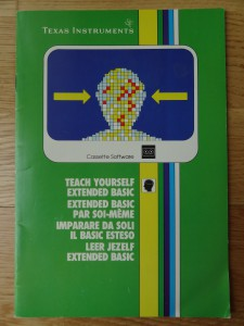 Teach Yourself Extended BASIC PHT 6019,  1103015-0000 © 1982 Texas Instruments
