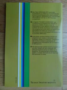 Mailing List PHD 5001,  1103016-0000 © 1982 Texas Instruments