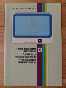 Programming Aids II PHD 5005,  1103018-0000