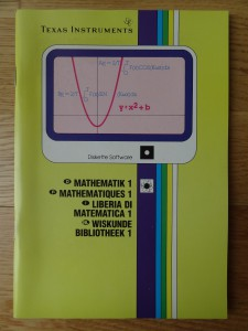 Math Routine Library PHD 5006,  1103020-0000 © 1982 Texas Instruments