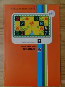 The Attack PHM 3031,  1103034-0000 no Copyright