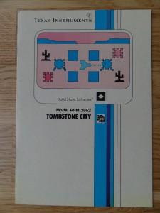 Tombstone City PHM 3052,  1103035-0000 no Copyright