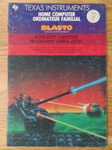 Blasto PHM 3032,  1103041-0200 © 1983 Texas Instruments