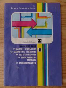 Market Simulation PHT 6018,  1103048-0200 © 1982 Texas Instruments