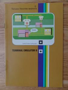 Terminal Emulator II PHM 3035,  1103066-0000 no Copyright