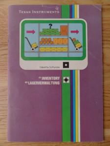 Inventory PHD 5024,  1103072-0000 © 1982 Texas Instruments