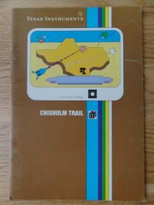 Chisholm Trail PHM 3110,  1103082-0000 © 1982 Texas Instruments