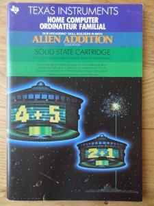 Alien Addition PHM 3115,  1103087-0000 © 1982, 1983 Texas Instruments