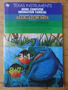Alligator Mix PHM3114 , 1103088-0000 © 1982, 1983 Texas Instruments