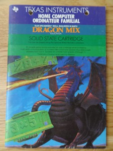 Dragon Mix PHM 3117,  1103091-0000 © 1982, 1983 Texas Instruments