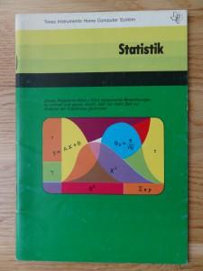 Statistik PHM 3014,  1105512-0001 © 1980 Texas Instruments