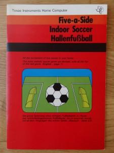 Indoor Soccer PHM 3023, 1105673-0001 © 1980 Texas Instruments