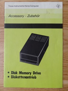 Disk Memory Drive PHP 1850,  1105689-0001 © 1982 Texas Instruments