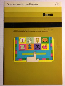 Demonstration (I do not own this manual) PHM 3001,  1104978 © 1979 Texas Instruments