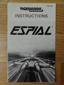 Espial © 1984 Tiger Electronics, Inc. 7-012-99