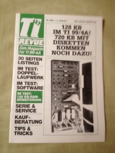 TI Revue Nr. 8/85, 4. Quartal 2. Jahrgang