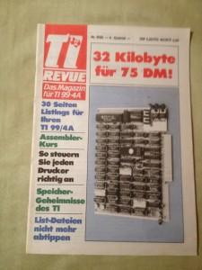 TI Revue Nr. 9/85, 4. Quartal 2. Jahrgang