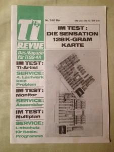 TI Revue Nr. 5/86, Mai 3. Jahrgang