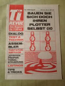 TI Revue Nr. 8/86, August 3. Jahrgang