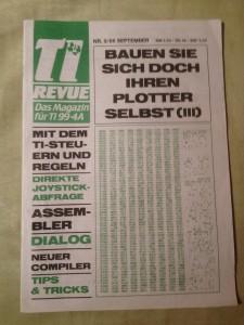 TI Revue Nr. 9/86, September 3. Jahrgang