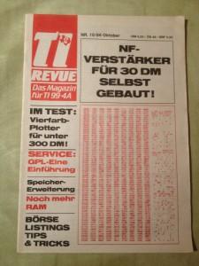 TI Revue Nr. 10/86, Oktober 3. Jahrgang