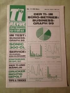 TI Revue Nr. 11/86, November 3. Jahrgang