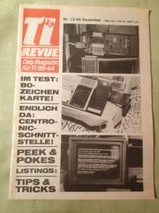 TI Revue Nr. 12/86, Dezember 3. Jahrgang