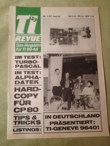 TI Revue Nr. 1/87, Januar 4. Jahrgang