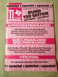 TI Special TI 99/4A Sonderheft 1/85