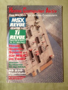 HCA - Home Computer Aktiv Nr. 3/4, März/April 1987