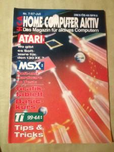 HCA - Home Computer Aktiv Nr. 7/87, Juli 1987