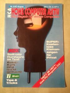 HCA - Home Computer Aktiv Nr. 8/87, August 1987