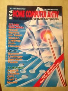 HCA - Home Computer Aktiv Nr. 9/87, September 1987