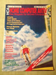 HCA - Home Computer Aktiv Nr. 11/87, November 1987