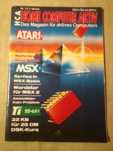 HCA - Home Computer Aktiv Nr. 12/1, Januar 1988