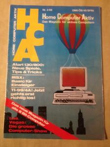 HCA - Home Computer Aktiv Nr. 2/88, Februar 1988