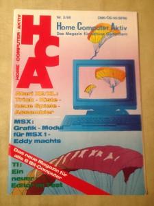 HCA - Home Computer Aktiv Nr. 3/88, März 1988