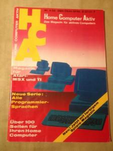 HCA - Home Computer Aktiv Nr. 4/88, April 1988