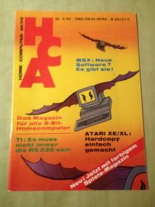 HCA - Home Computer Aktiv Nr. 5/88, Mai 1988