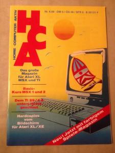 HCA - Home Computer Aktiv Nr. 6/88, Juni 1988