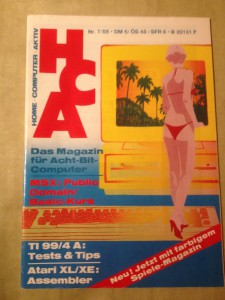 HCA - Home Computer Aktiv Nr. 7/88, Juli 1988