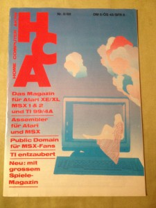 HCA - Home Computer Aktiv Nr. 8/88, August 1988