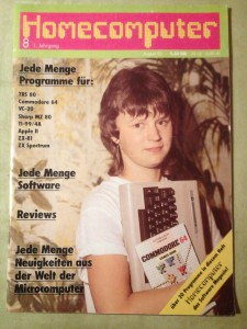 Homecomputer 8/1983 August 1. Jahrgang