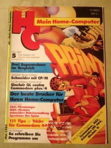 HC - Mein Home-Computer 5/1985 Mai