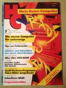 HC - Mein Home-Computer 7/1985 Juli