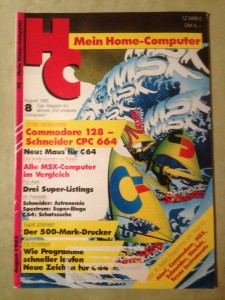 HC - Mein Home-Computer 8/1985 August